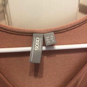 ASOS Maternity Dresses - ASOS maternity dress, pink blush, sz 8 EUC!